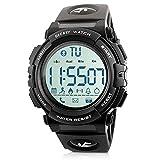 Beeasy Montre Sport Homme,Digitale Hommes Smartwatch Numérique Bluetooth...