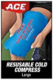 ACE Reusable Cold Compress, Soft-touch fabric to apply directly to skin, Large