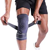 BERTER Knee Brace for Men Women Compression Sleeve Non-Slip Knee Support Stability Comfort for...