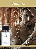 SANGADO Perfume Indomable para Hombre, Larga Duración 8-10 horas, Fragancia Lujosa, Fougère Aromático, ...