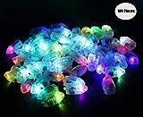 Yuccer Ballons Lampes pour Lanternes en Papier, Mini Ampoule LEDs Balloon...
