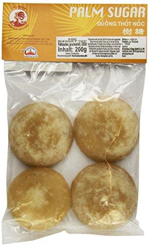 Cock Palmzucker, Scheiben, 10er Pack (10 x 200 g Packung)