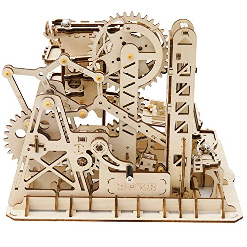 ROKR Marble Run Kit 3D Wooden Puzzles Model to Build for...