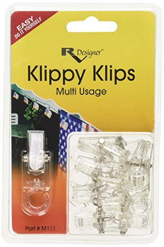 RV Designer M111, Klippy Klips Awning Clips, Light Hangars, 10...