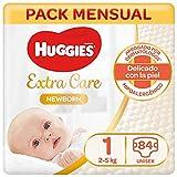 Huggies Newborn Pañales Recién Nacido Talla 1 (2-5 kg) - 84 pañales