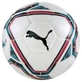 Puma teamFINAL 21.5 Hybrid Ball, Pallone da Calcio Unisex-Adult, White-Rose Red-Ocean Depths Black, 5