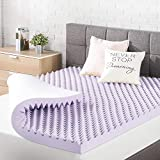 Best Price Mattress Memory Foam Bed Topper with Lavender Cooling Mattress Pad, Full