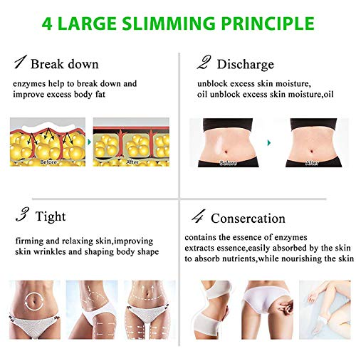 Hot Cream, Cellulite Slimming and Body Fat Burning Cream Weight Loss Serum Treatment Deep Tissue Massage for Shaping Waist, Abdomen and Buttocks 7