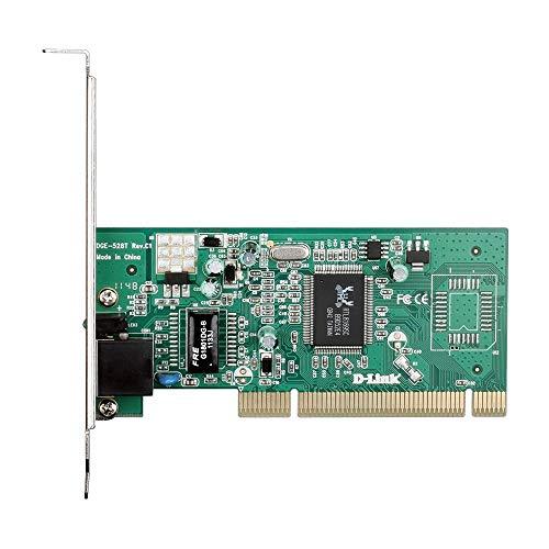 Placa de Rede - 1x Gigabit - PCI - D-Link - DGE-528T