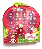 The Bridge Direct, Strawberry Shortcake, Berry Bitty Friends, Exclusive Set [Strawberry Shortcake, Plum Pudding, Lemon Meringue, and Blueberry Muffin], 3 Inches, 4-Pack