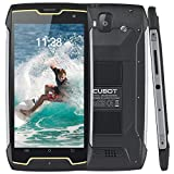 16GB Unlocked Rugged Smartphone, 4400mAh, 5 Inch HD IPS, 13+8MP Camera, IP68 Waterproof, 10 Points Touch, Quad-Core, Dual SIM, 3G WCDMA,GPS, Compass, 2GB RAM, CUBOT King Kong