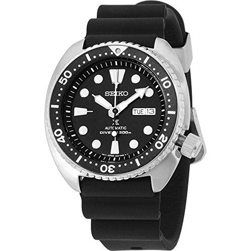 Seiko Herren Analog Automatik Uhr mit Plastik Armband SRP777K1
