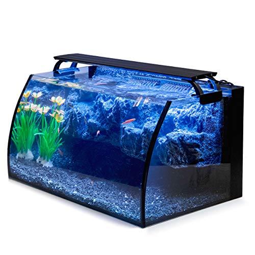 Hygger Horizon 8 Gallon LED Glass Aquarium Kit