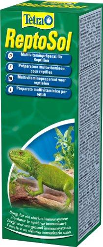 Tetra ReptoSol (hochwertiges flüssiges Vitamin-Ergänzungsfutter für alle Reptilien, Multivitamin-Präparat, Nahrungsergänzung erhöht Widerstandskraft), 50 ml Flasche