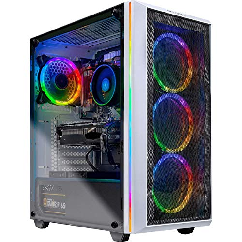 Skytech Chronos Gaming PC Desktop - AMD Ryzen 7 2700X, NVIDIA RTX 2070 Super 8GB, 16GB DDR4 (2X 8GB), 1TB SSD, B450M Motherboard, 650 Watt Gold (Ryzen 7 2700X | RTX 2070 Super)
