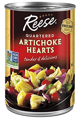 Reese Quartered Artichoke Hearts, 14 Ounces (Pack of 12)