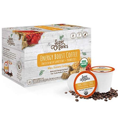 Super Organics Energy Boost Coffee Brew Cups