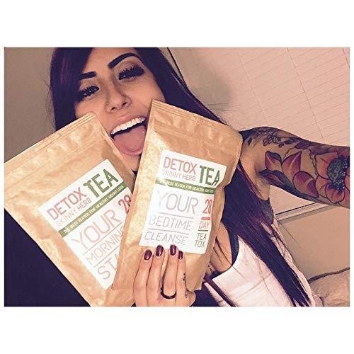 28 Days Teatox: Detox Skinny Herb Tea - Effective Detox Tea, Only Natural and Organic Ingredients, Full Body Cleanse, Teatox 2