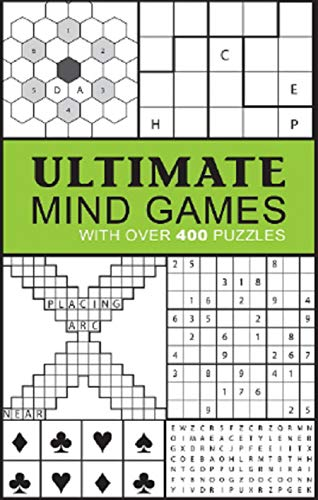 Ultimate Mind Games: With Over 400 Puzzles