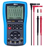AIR EONE ET310A Oscilloscope Multimeter, Connectable to Computer, 20MHz Bandwidth 80M Sample Rate, Professional Handheld Oscilloscope Kit DMM