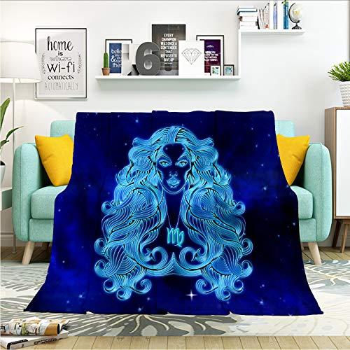 Virgo Throw Blanket