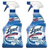 Lysol Bathroom Cleaner Bundle Trigger (Pack of 2)