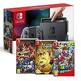 Console Nintendo Switch avec paire de Joy-Con - gris Rayman Legends - Definitive Edition pour Nintendo Switch Sonic Forces Super Mario Odyssey