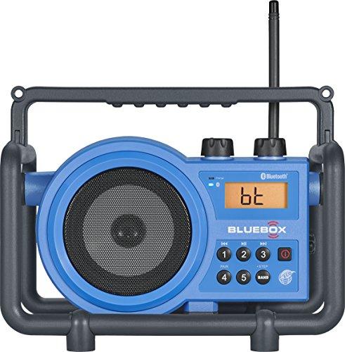 Sangean BB-100 AM/FM/Bluetooth/Aux-in Ultra Rugged Digital Tuning...