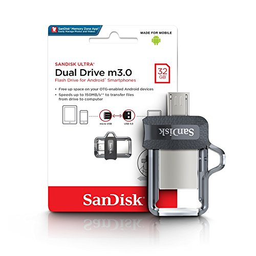 SanDisk Ultra Dual M3.0 USB Flash Drive 32GB, fino...