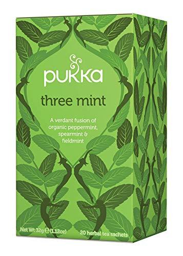 Pukka Three Mint Tisana, Confezione da 20 Filtri