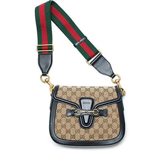 """51DTUFbS+mL 10 ½""""W x 7""""H x 3""""D. (Interior capacity: small.) 15"""" – 19"""" convertible strap drop. 1.0 lb. DETAILS & CARE Heritage details including the house web and a low-key double-G logo highlight the classic GG Supreme canvas of this just-right shoulder bag trimmed in leather. Top zip closure Adjustable shoulder strap Exterior zip pocket Interior zip and wall pockets Canvas with leather trim Made in ItalyAuthentic and brand new. Made in Italy Founded in Florence in 1921, Gucci is one of the world's leading luxury fashion brands, with a renowned reputation for creativity, innovation and Italian craftsmanship. Gucci is part of the Kering Group, a world leader in apparel and accessories that owns a portfolio of powerful luxury and sport and lifestyle"""