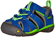 washable polyester webbing upper keen's signature bungee lace system with hook-and-loop instep strapbreathable jersey lining washable polyester webbing upper keen's signature bungee lace system with hook-and-loop instep strap breathable jersey lining...