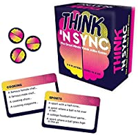 Hilarious party game of quick connections Must think quickly, think cleverly, but most importantly 'N sync! Comes with 225 cards and 8 tokens Fun for ages 12 and up For 3-8 players