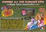 Coffret 6 DVD +1 Karaoké KPM ''Mega Tubes Inoubliables 3b''
