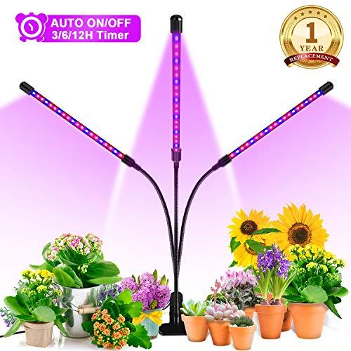 Ankace 60W Tri-Head LED Grow Light