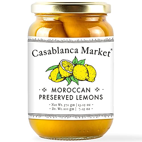 Casablanca Market Preserved Lemons, 200 Grams