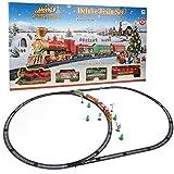 Jouet de Circuit de Train électrique, modèle de Noël Train électrique Piste...