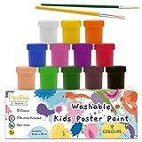 Creative Deco Peinture Lavable Enfant Multi-Colores | 12 Pots x 20 ML |...