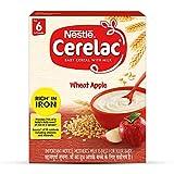 Nestlé Cerelac généreux céréales pour bébés avec du lait, du blé apple -...
