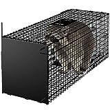 Amagabeli Piège vivant 78x26x29cm Piège animalier comme grand piège à martre...