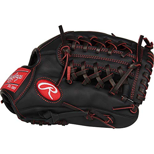 Rawlings R9 Baseball Youth Pro Taper 11 1/2' P/Inf, R9YPT4-4B-3/0 Gloves , Right Hand Throw