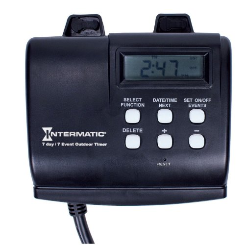 Intermatic HB880R 15-Amp Outdoor Digital Timer for Control of Lights,...