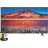 Samsung UN43TU7000FXZA 43 inch 4K Ultra HD Smart LED TV 2020 Model Bundle with Support Extension
