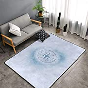 High-Quality Materials: Rug Is Made Of Flannel Fabric And High-Density Space Stretch Cotton Interlayer, Which Is Absorbent, Soft To The Touch, Fine Fluff, Non-Balling, And Non-Fading. The Middle Interlayer Is High-Density Memory Foam, Which Can Effec...