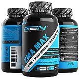 ZMA MAX - 180 Cápsulas - Dosis extra altas - Zinc + Magnesio + Vitamina B6 -...
