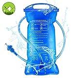 Idefair Vessie d'hydratation,Hydration Bladder Réservoir d'eau portable étanche à l'eau 1.5L / 2L...