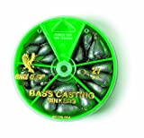 Eagle Claw Bass Casting Sinker, Assortment