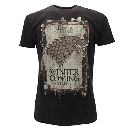 Games of Thrones - Camiseta - para Hombre Negro Medium