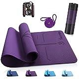 ANVASK Tapis de Yoga Tapis de Sport Tapis de Gymnastique, Tapis Yoga...
