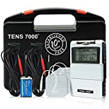 TENS 7000 Digital TENS Unit With Accessories - TENS Unit Muscle...